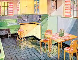 Unfitted Kitchen Furniture A Brief History Of Kitchen Design From The 1930s To 1940s