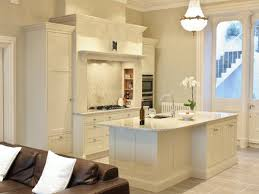 Kitchen Island With Oven by Interesting Cream Color Kitchen Cabinets Features Rectangle Shape