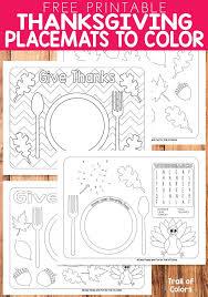 best 25 thanksgiving placemats ideas on kindergarten