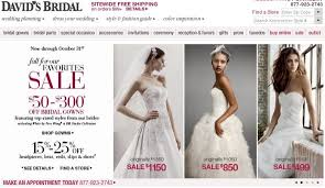 davids bridal fall sale weddingbee
