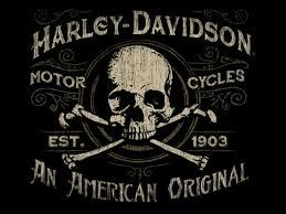 harley davidson vintage skull of marco almera