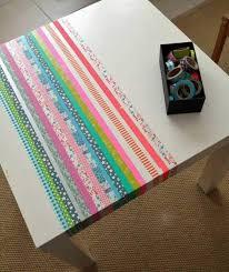washi tape designs 15 washi tape tables easy diy designs