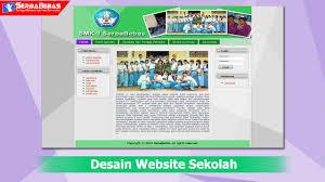 tutorial membuat web html sederhana cara membuat desain website sekolah menggunakan html dan css youtube