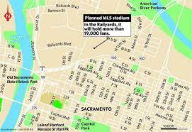 Folsom Field Map Sacramento To Start Construction Of Major League Soccer Stadium