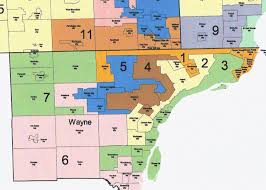 Map Of Metro Detroit by Once Again Michigan Dems Receive More Votes In The State House