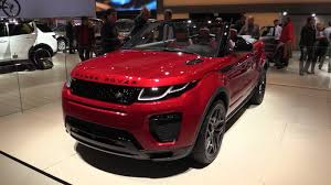 2016 land rover range rover interior land rover range rover evoque convertible 2016 2017 in depth