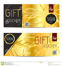 gift card company gift voucher vector coupon template for company corporate style