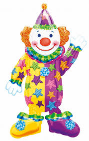 clowns balloons happy clown 44 airwalker balloon home kitchen