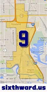 12th ward chicago map the sixth ward 2014