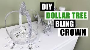 Room Diy Decor Diy Dollar Tree Bling Crown Dollar Store Diy Glam Decor Diy