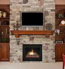 decor tips awesome gas linear fireplace with faux stone surround