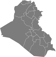 map of irak free blank iraq map in svg resources simplemaps