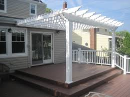 pergola design ideas attached pergola kits vinyl pergolas attached