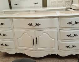 White Shabby Chic Furniture by Custom Order Antique Dresser Shabby Chic Beach Cottage Aqua