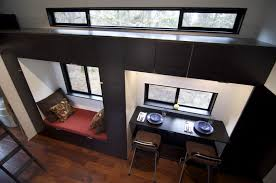 tiny home dining table live a big life in a tiny house on wheels