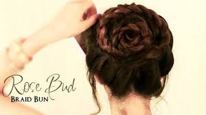 color hair video dailymotion how to do a rose bud braid bun cute hairstyles for medium long
