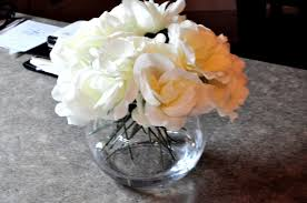 Fake Flower Centerpieces Living Beautifully One Diy Step At A Time Diy Artificial