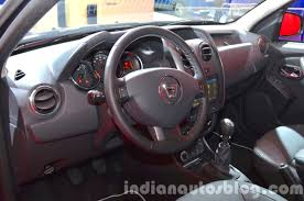 renault dacia duster 2017 2016 dacia duster interior at iaa 2015 indian autos blog
