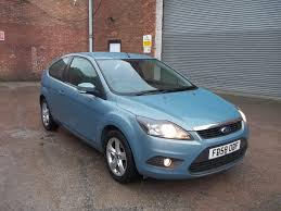 used ford focus zetec for sale motors co uk