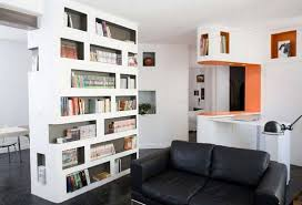 White Bookcase Ideas White Bookcase Room Dividers Ideas In Living Room Home Interiors