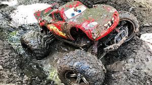 lightning mcqueen monster truck videos disney cars monster lightning mcqueen off road pixar cars 2