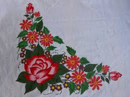 Crafts Diary Design - Table cloth design