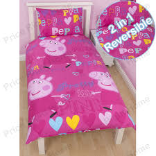 peppa pig duvet cover sets junior single double brand new
