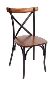 Wooden Chair Png Henry Metal Frame Chair Metal Frame Commercial Chairs