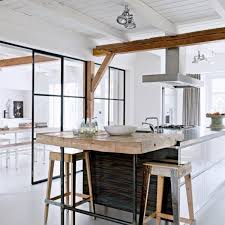 ouverture entre cuisine et salle à manger r novation am nagement appartement ilot et bar de ouverture