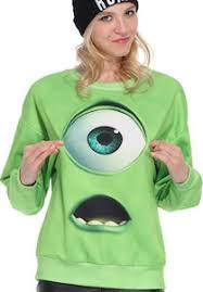 monsters mike wazowski sweater disney