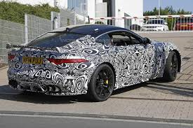 all black jaguar jaguar f type svr spied throttle blips