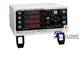 Ac Bench Power Supply 3334 Ac Dc Bench Power Meter