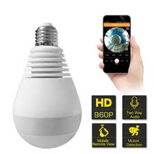 light bulb security system wifi hikvision ptz cctv security system bulb camera closed circuit