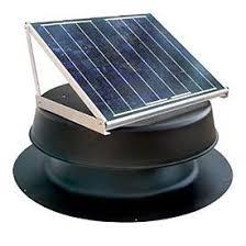solar attic vent fan natural light energy saf24b solar attic fan built in household
