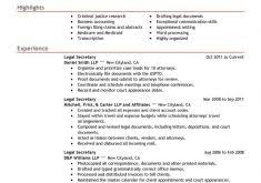 Legal Secretary Resume Samples by Resume Templates On Word Haadyaooverbayresort Com