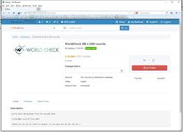 thomson reuters world check terrorist database goes up for sale on