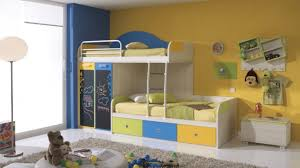 Best Paint For Kids Rooms Bedroom Beautiful Blue White Wood Cool Design Top Kids Room