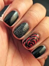 45 stylish red and black nail designs nápady nechtový dizajn a