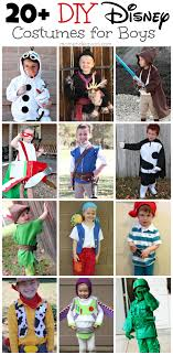 costumes for diy disney costumes for boys
