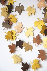 fall garland home interior design astonishing fall garland ideas paper leaf