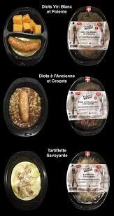 conservation plat cuisiné plats cuisinés en barquettes aux salaisons savoyardesaux salaisons