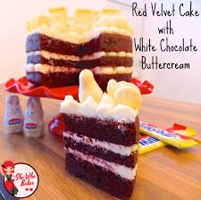 red velvet cake with white chocolate buttercream she who bakes