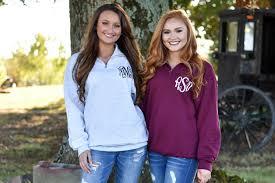 quarter zip monogrammed sweatshirt 1 4 zip monogram pullover