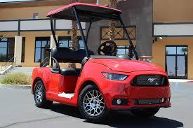 build ford mustang 2015 2017 ford mustang custom golf car caddyshack golf carts