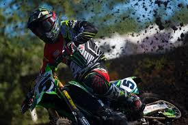 alias motocross goggles rival white another pair of podium finishes for monster energy alpinestars