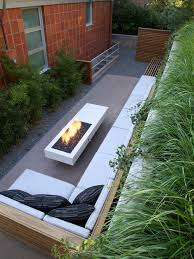 Concrete Slabs For Backyard by Midcentury Modern Outdoor Design Ideas U0026 Remodel Photos With