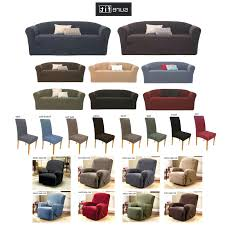 Sure Fit Dual Reclining Sofa Slipcover by Recliner Furniture Stretch Sensations Recliner Slipcover