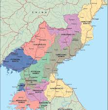 Korea On Map Map Of Cities In Korea Map Of Cities In United Kingdom Map Of