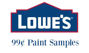 lowes 99 paint samples southern savers
