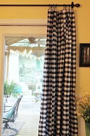 Blue Buffalo Check Curtains Interesting Buffalo Plaid Curtains And My New Diy 20 Curtains A
